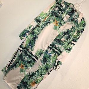 Ashley Stewart Dresses - Ashley Stewart Tropical 🌴 Shirt Dress 20